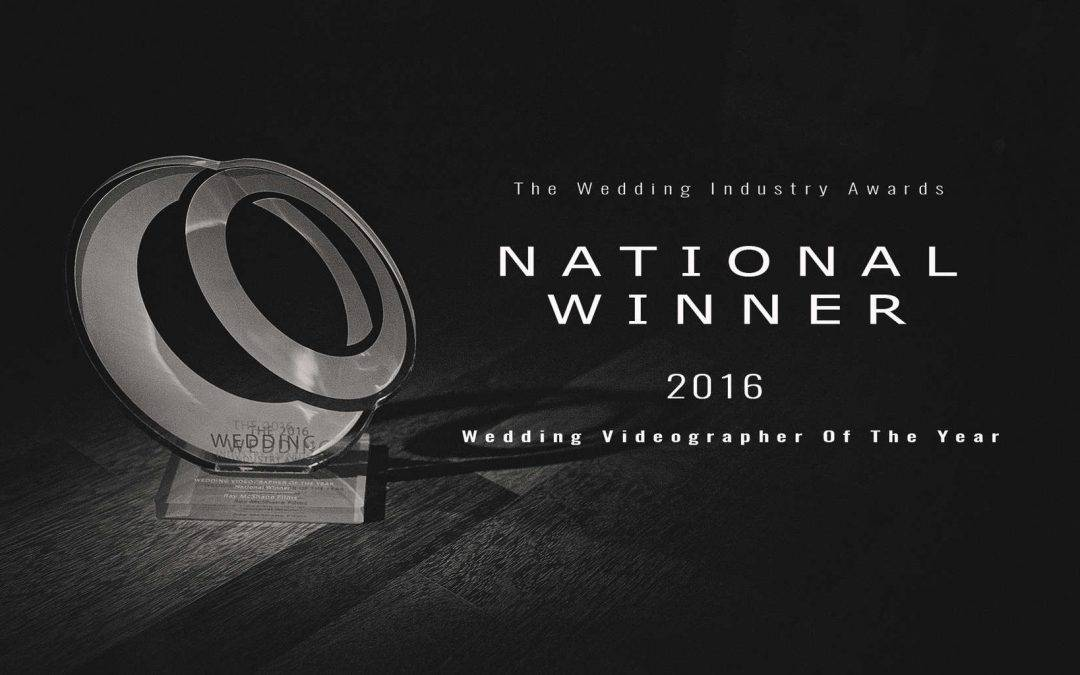 UK Videographer Of The Year Winner TWIA The Wedding Industry Awards